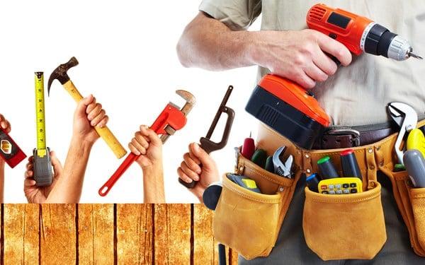 mala de ferramentas para montador de móveis